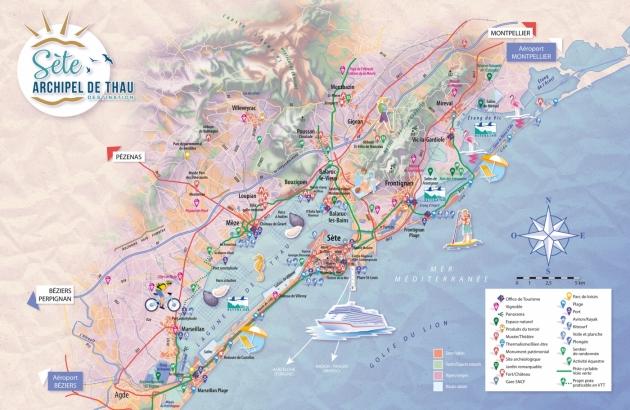 Carte tourisme SAM