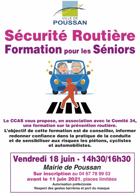 Formation routiere seniors