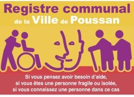 Création d'un registre nominatif des personnes isolées et handicapées