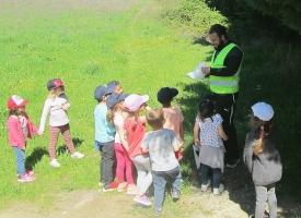 Service civique à Poussan