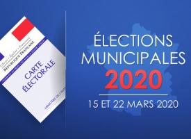 Résultats du premier tour des élections municipales