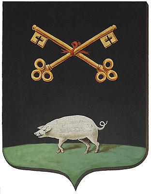 cochon blason